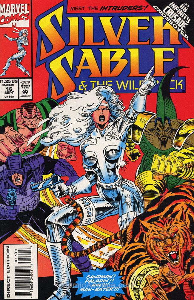 Silver Sable comic issue 16