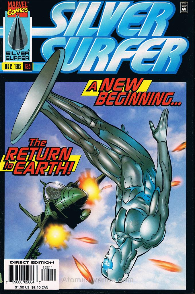 Silver Surfer, The (Vol. 3) comic issue 123