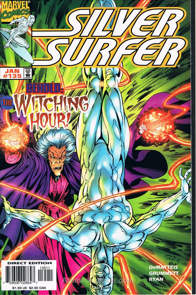 Silver Surfer, The (Vol. 3) comic issue 135