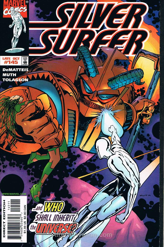 Silver Surfer, The (Vol. 3) comic issue 145