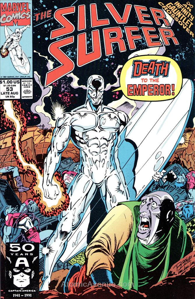 Silver Surfer, The (Vol. 3) comic issue 53