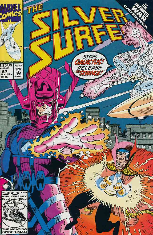 Silver Surfer, The (Vol. 3) comic issue 67