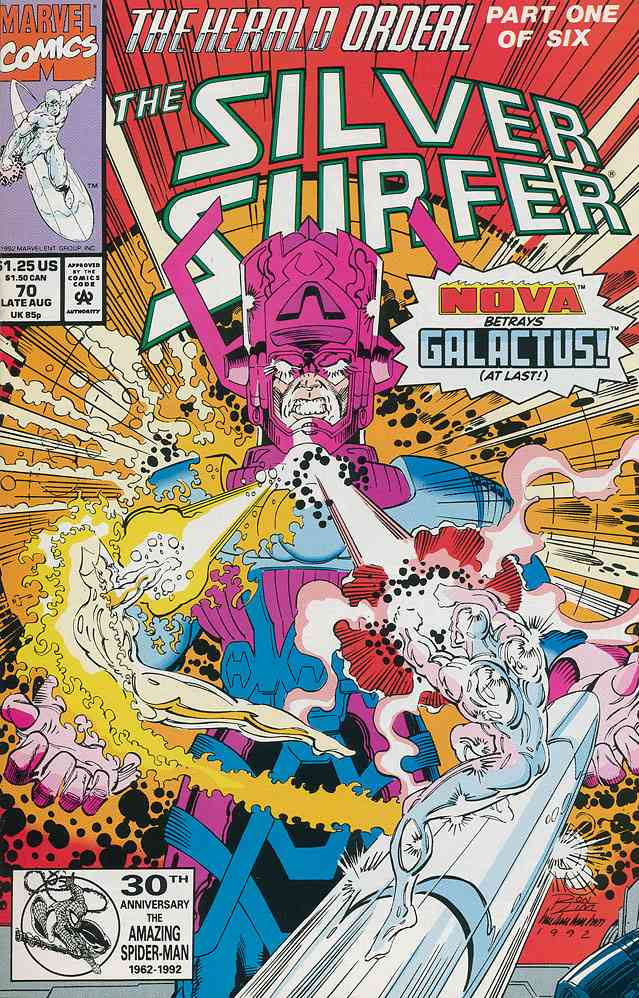 Silver Surfer, The (Vol. 3) comic issue 70