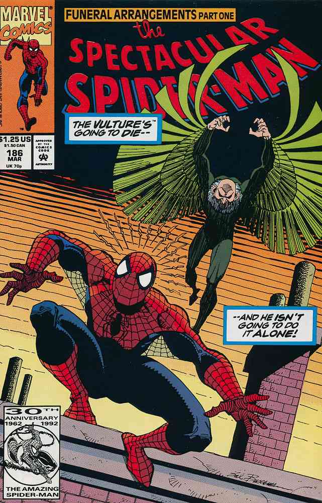 Spectacular Spider-Man, The comic issue 186