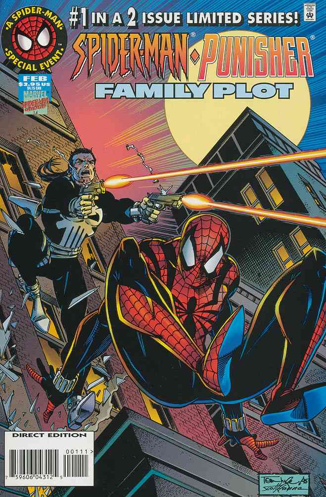 Spider-Man/Punisher: Family Plot comic issue 1