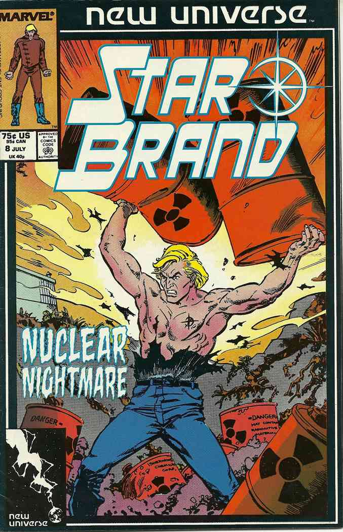 Star Brand, The comic issue 8