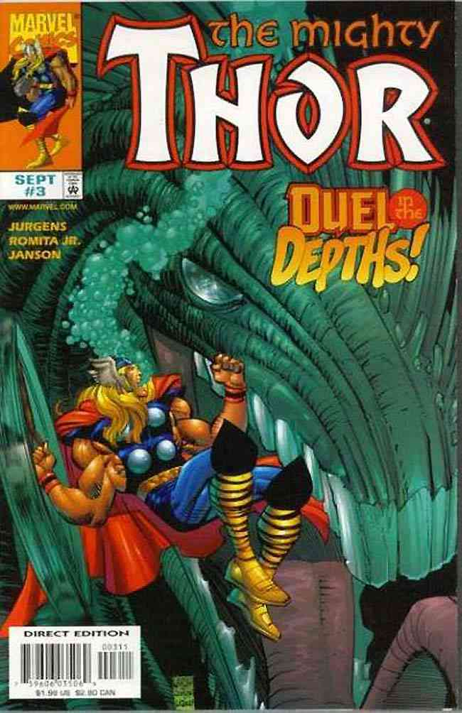 Thor (Vol. 2) comic issue 3