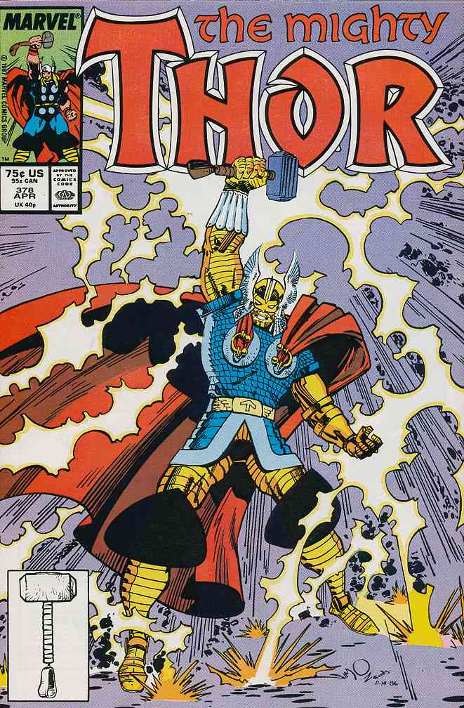Thor comic issue 378