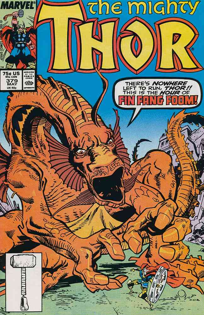Thor comic issue 379