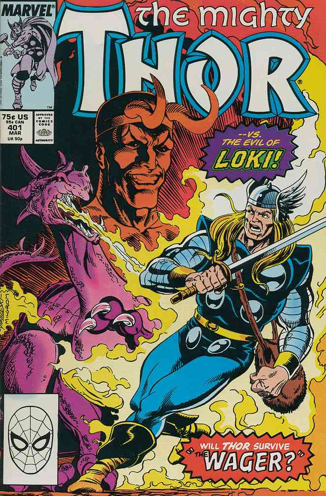 Thor comic issue 401