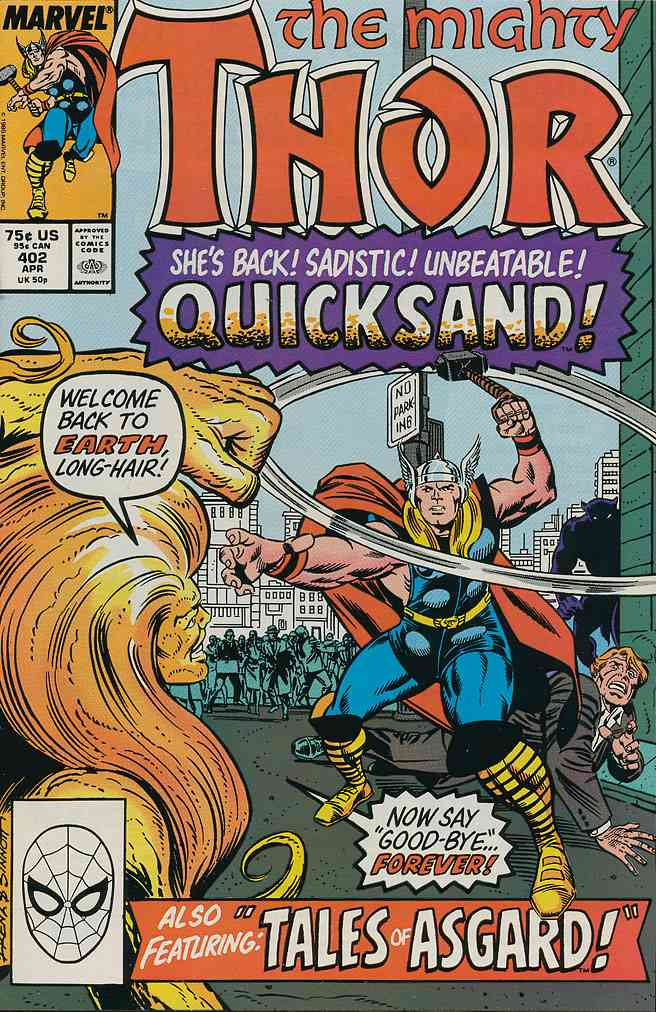 Thor comic issue 402