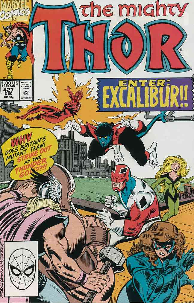 Thor comic issue 427