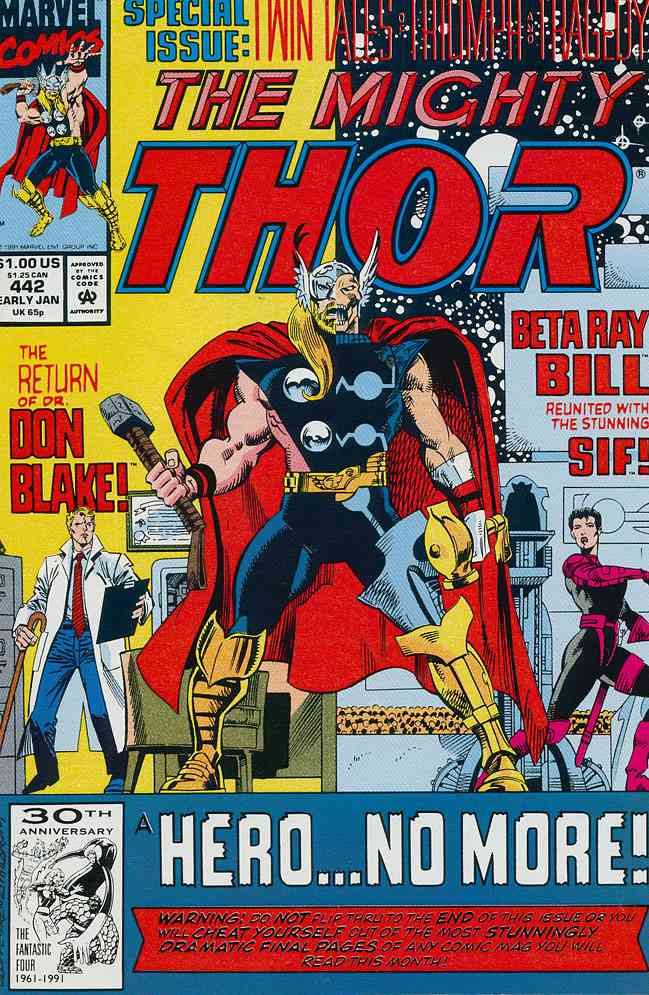 Thor comic issue 442