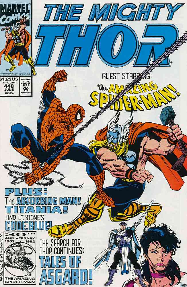 Thor comic issue 448