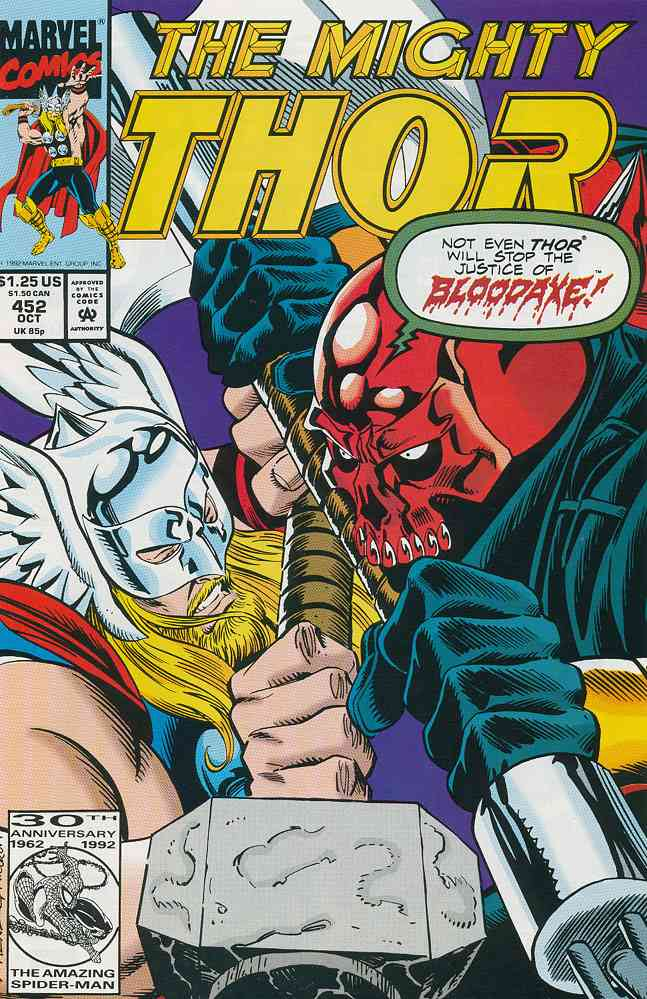 Thor comic issue 452