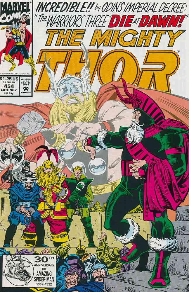 Thor comic issue 454