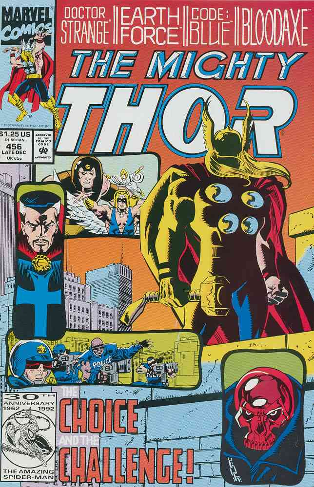 Thor comic issue 456