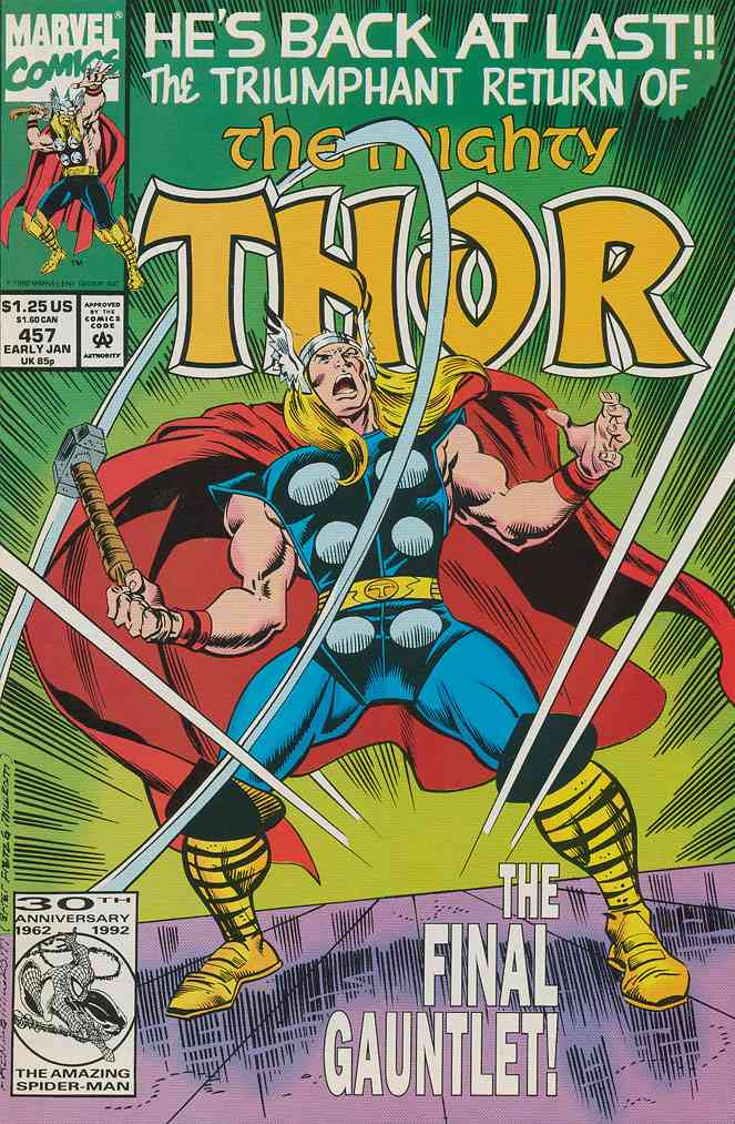 Thor comic issue 457