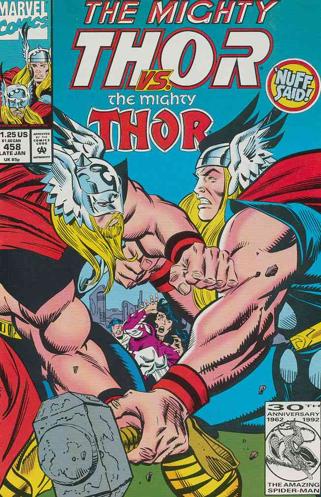 Thor comic issue 458