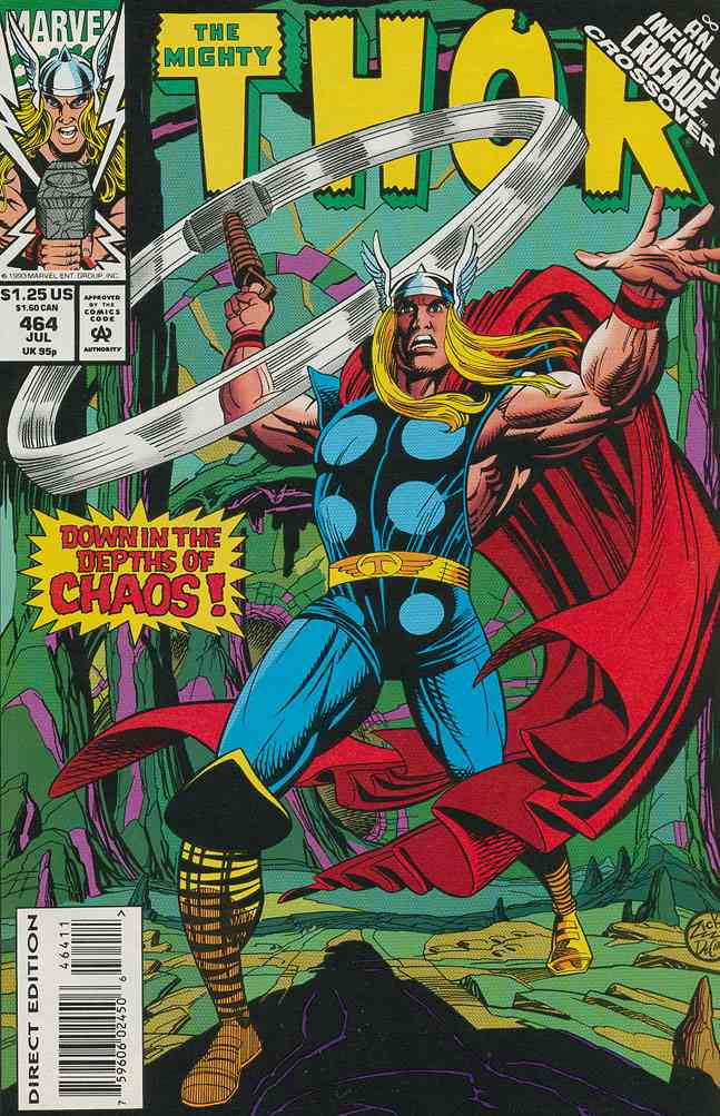 Thor comic issue 464