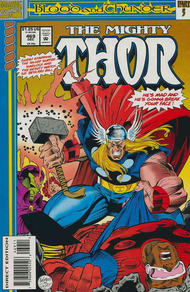 Thor comic issue 469