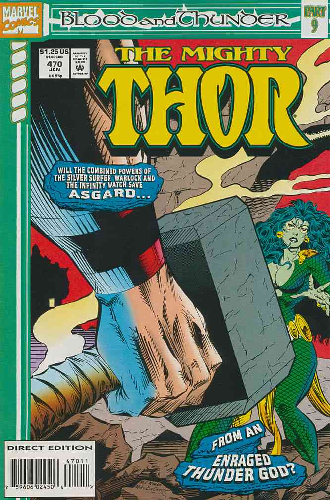Thor comic issue 470