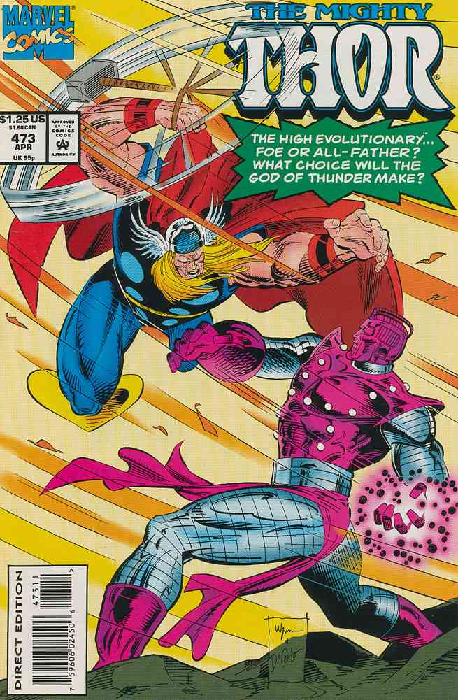 Thor comic issue 473