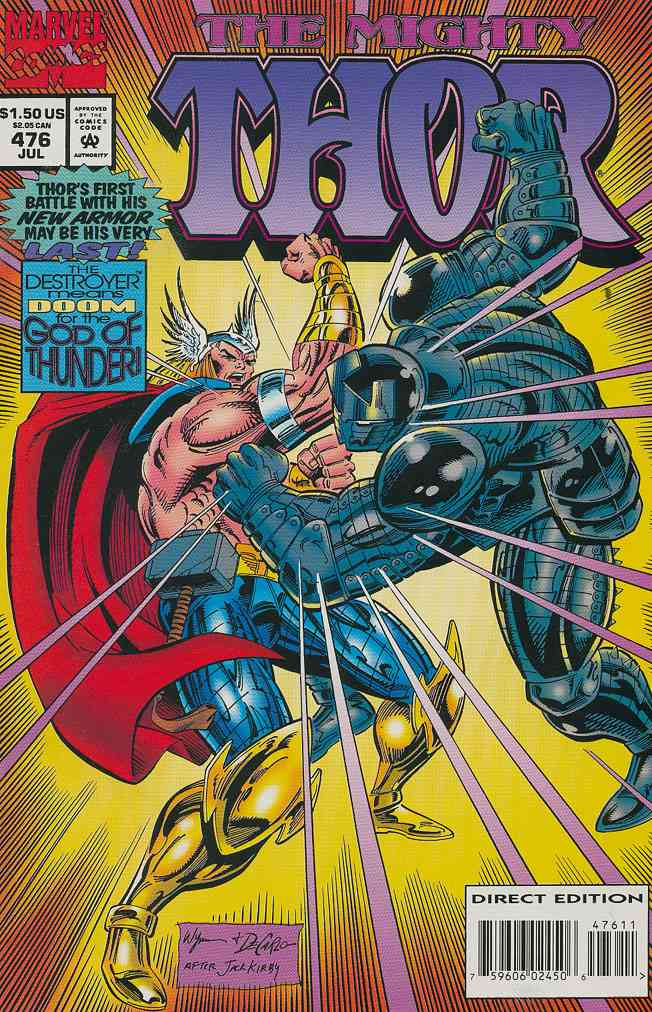Thor comic issue 476