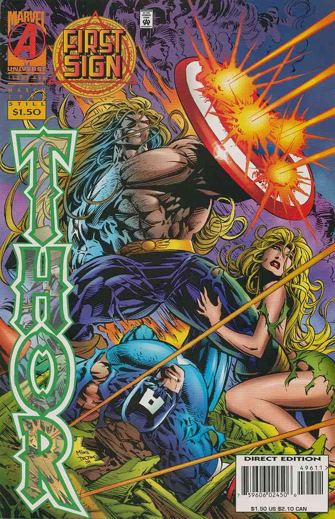 Thor comic issue 496