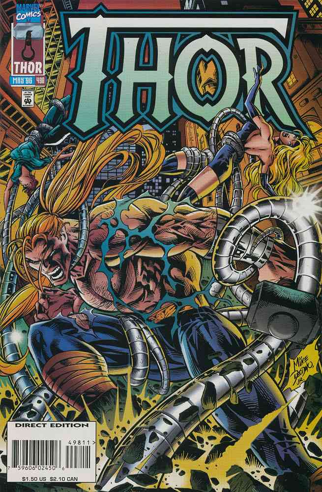 Thor comic issue 498