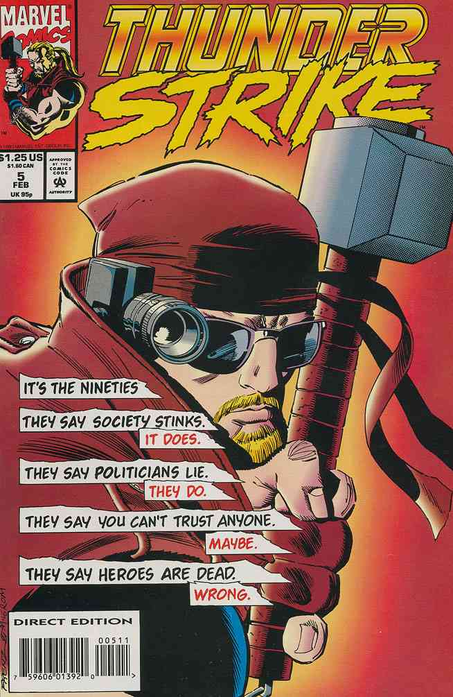 Thunderstrike comic issue 5