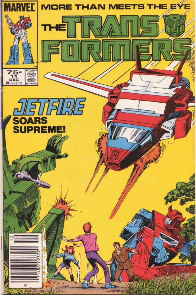 Transformers, The comic issue 11