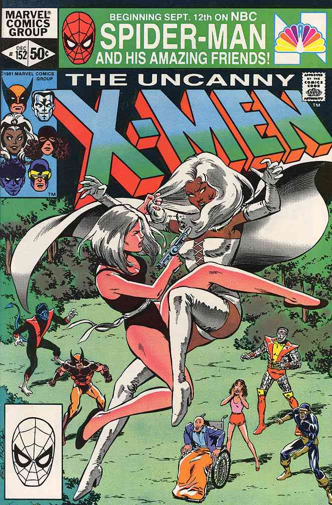 Uncanny X-Men, The comic issue 152