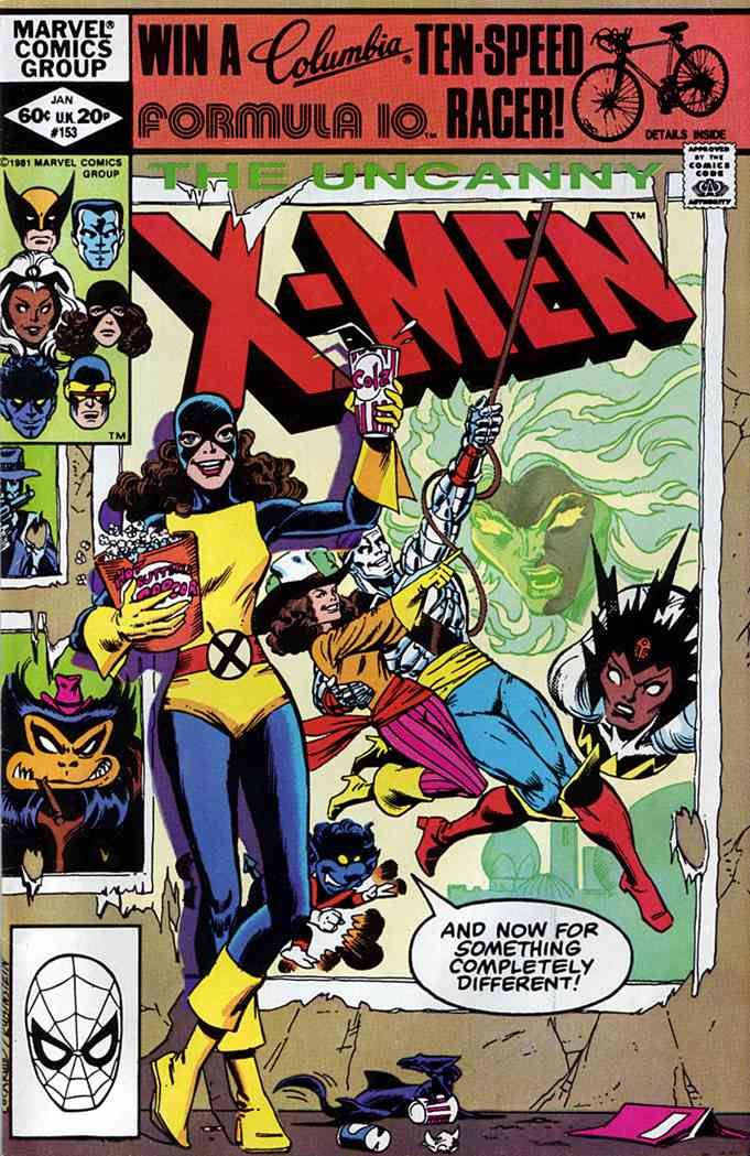 Uncanny X-Men, The comic issue 153
