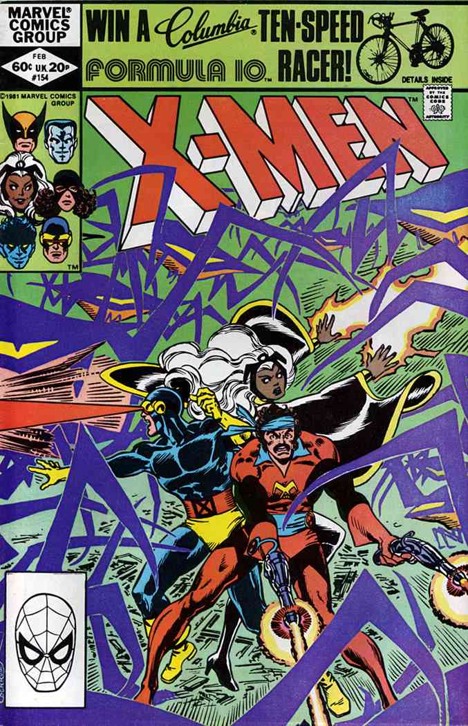 Uncanny X-Men, The comic issue 154