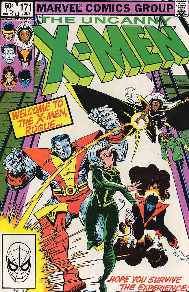 Uncanny X-Men, The comic issue 171