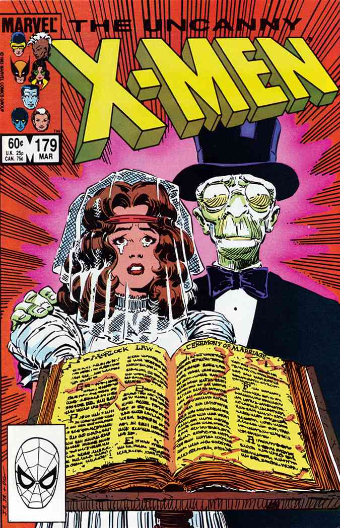 Uncanny X-Men, The comic issue 179