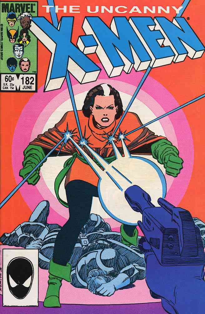 Uncanny X-Men, The comic issue 182