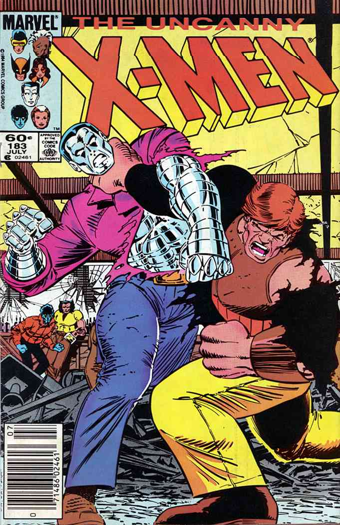 Uncanny X-Men, The comic issue 183