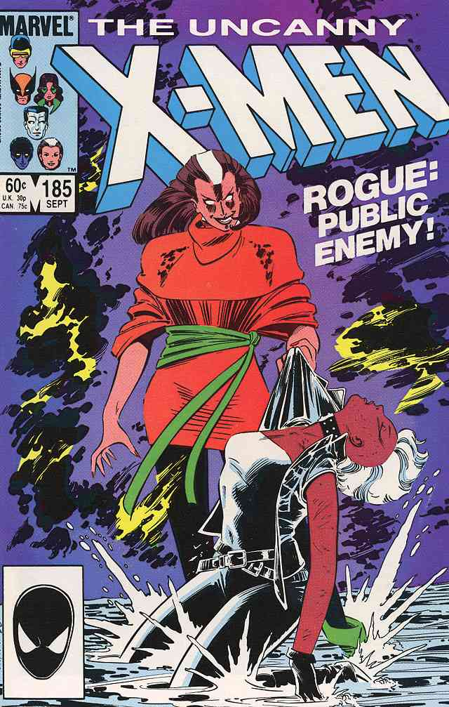 Uncanny X-Men, The comic issue 185