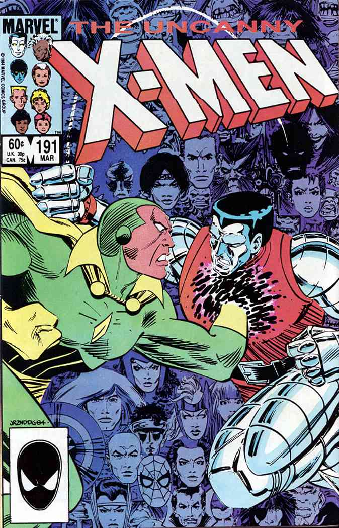 Uncanny X-Men, The comic issue 191