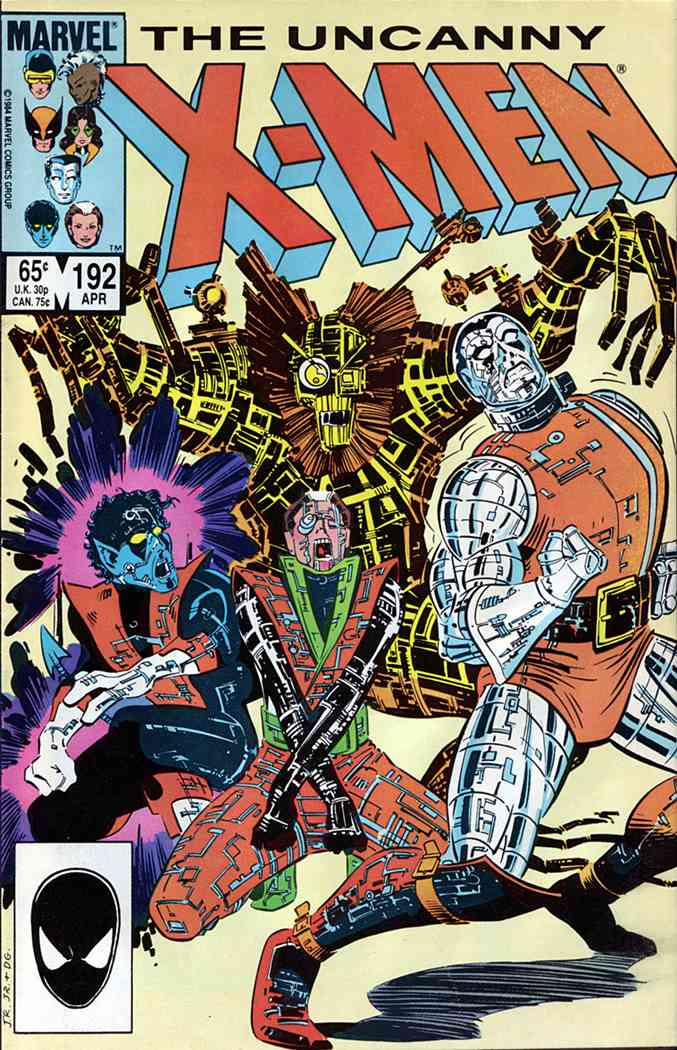 Uncanny X-Men, The comic issue 192