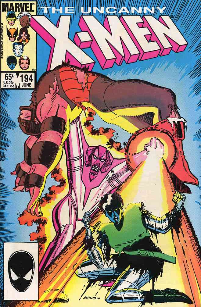 Uncanny X-Men, The comic issue 194