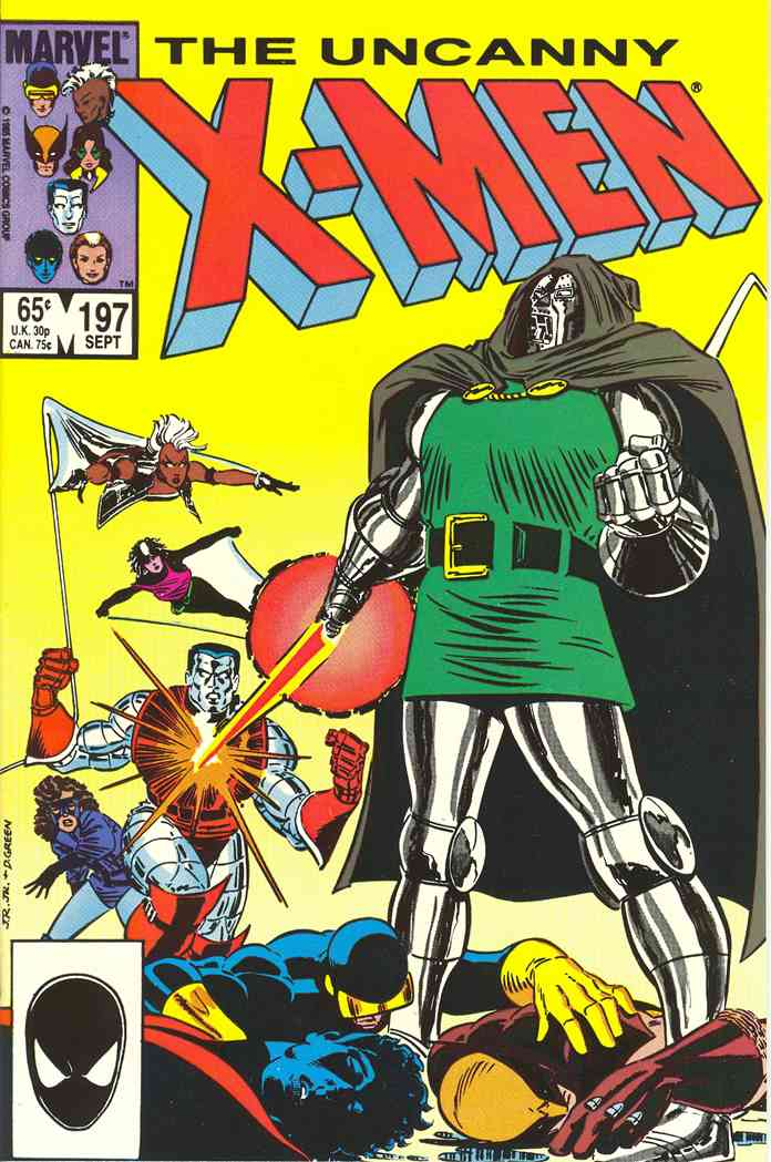 Uncanny X-Men, The comic issue 197