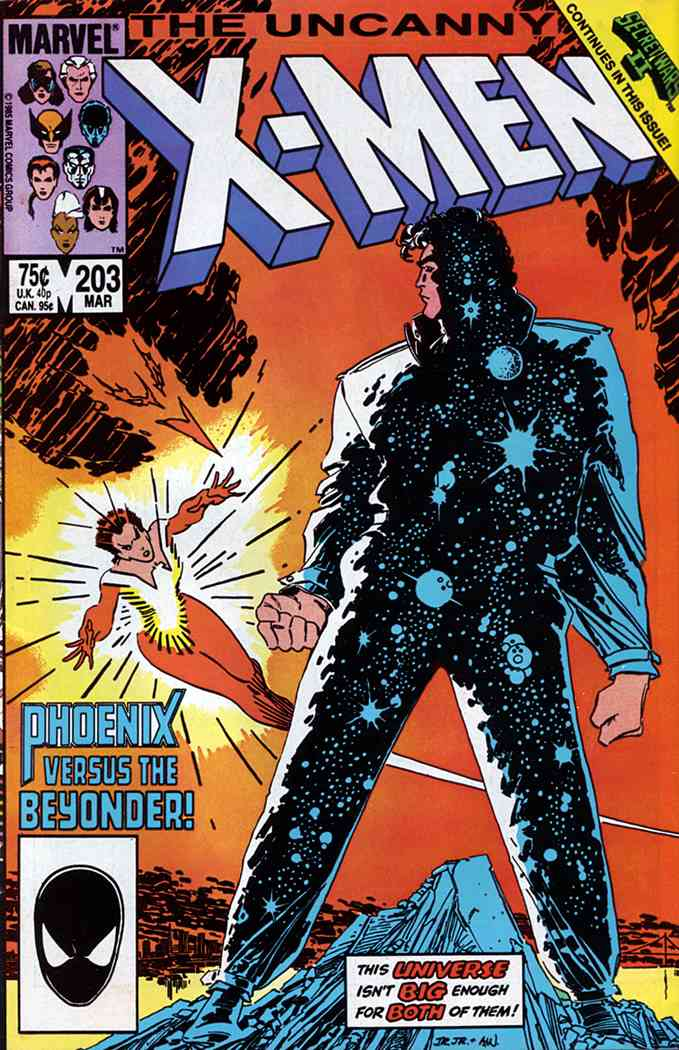 Uncanny X-Men, The comic issue 203