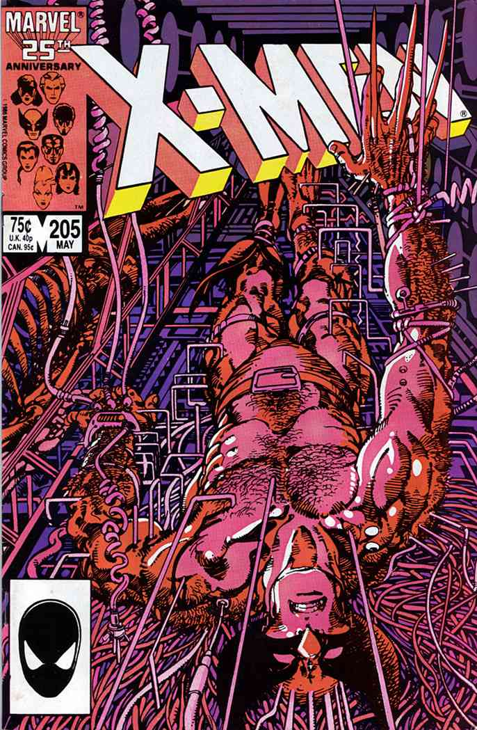 Uncanny X-Men, The comic issue 205