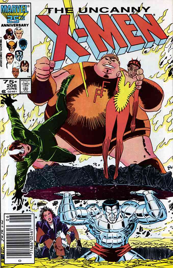 Uncanny X-Men, The comic issue 206