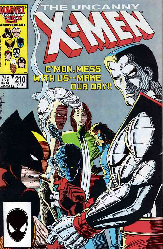 Uncanny X-Men, The comic issue 210