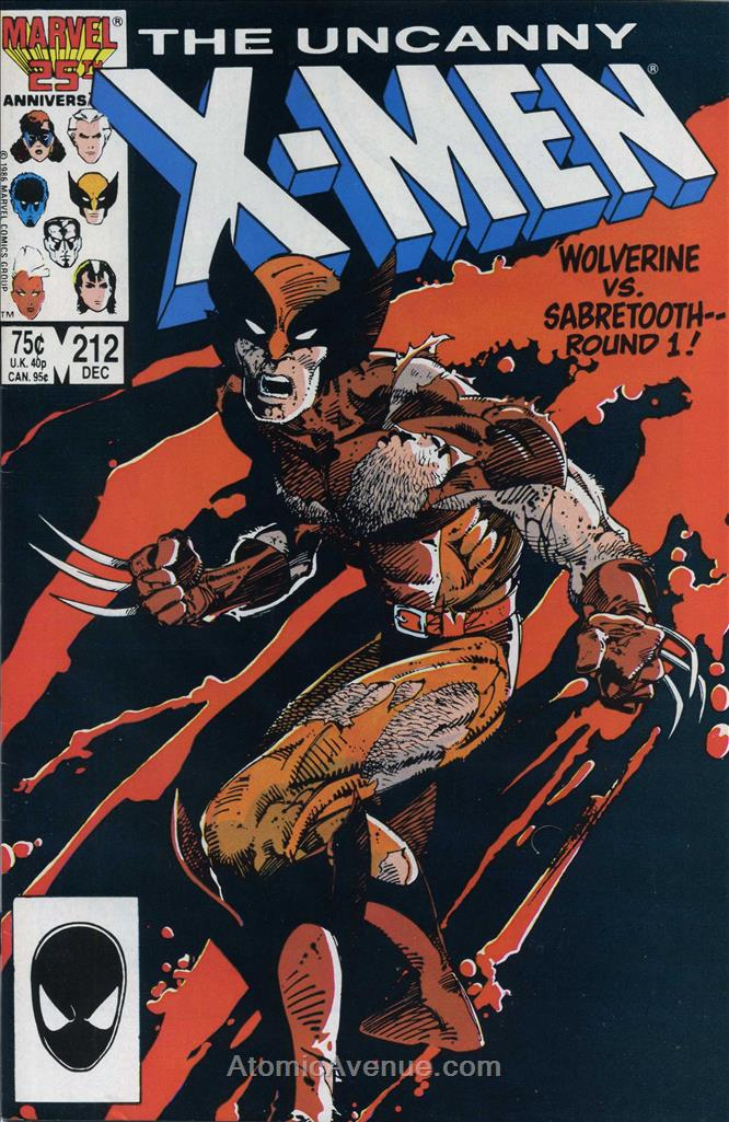 Uncanny X-Men, The comic issue 212