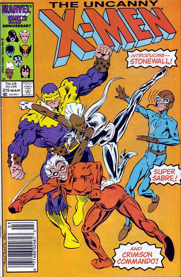 Uncanny X-Men, The comic issue 215